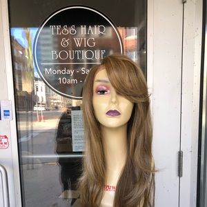 Accessories - Long blonde mix 2216 swisslace lacefront hairstyle